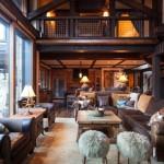 Дизайн гостиной в частном доме со вторым светом