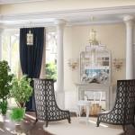 Дизайн большой гостиной: фото