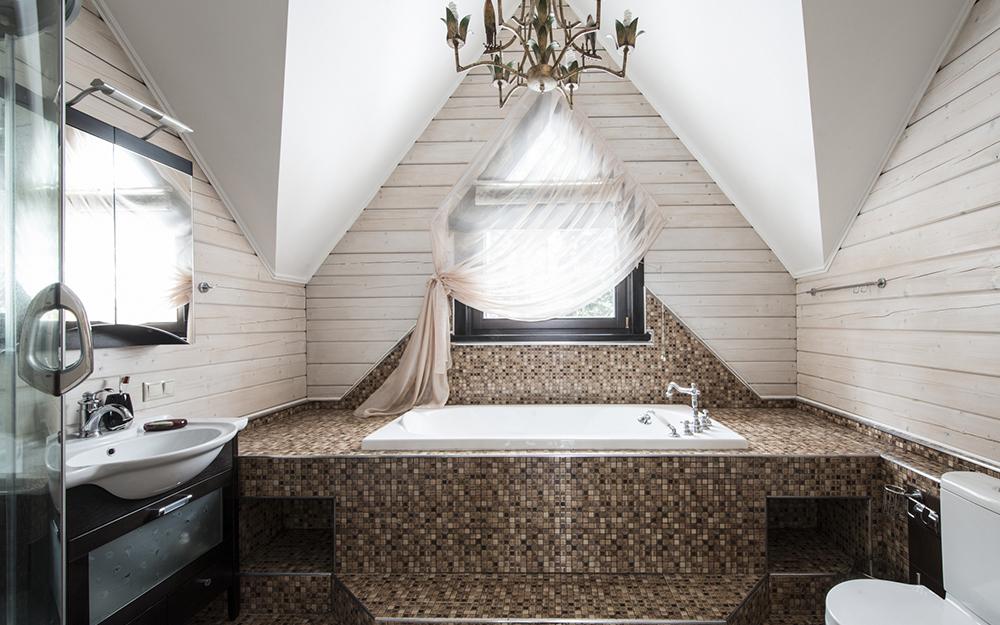 На что обратить внимание при проектировании ванной в загородном доме