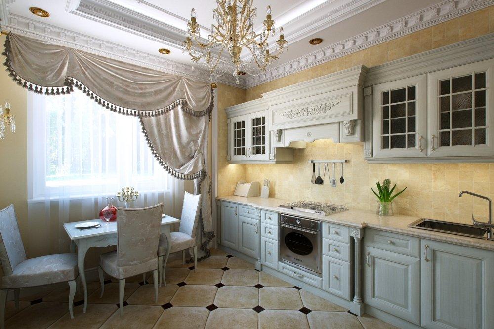 Фото кухонь в классическом дизайне