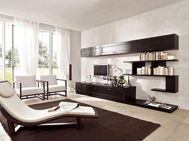 Фото оформления гостиной в современном стиле: идеи оформления
