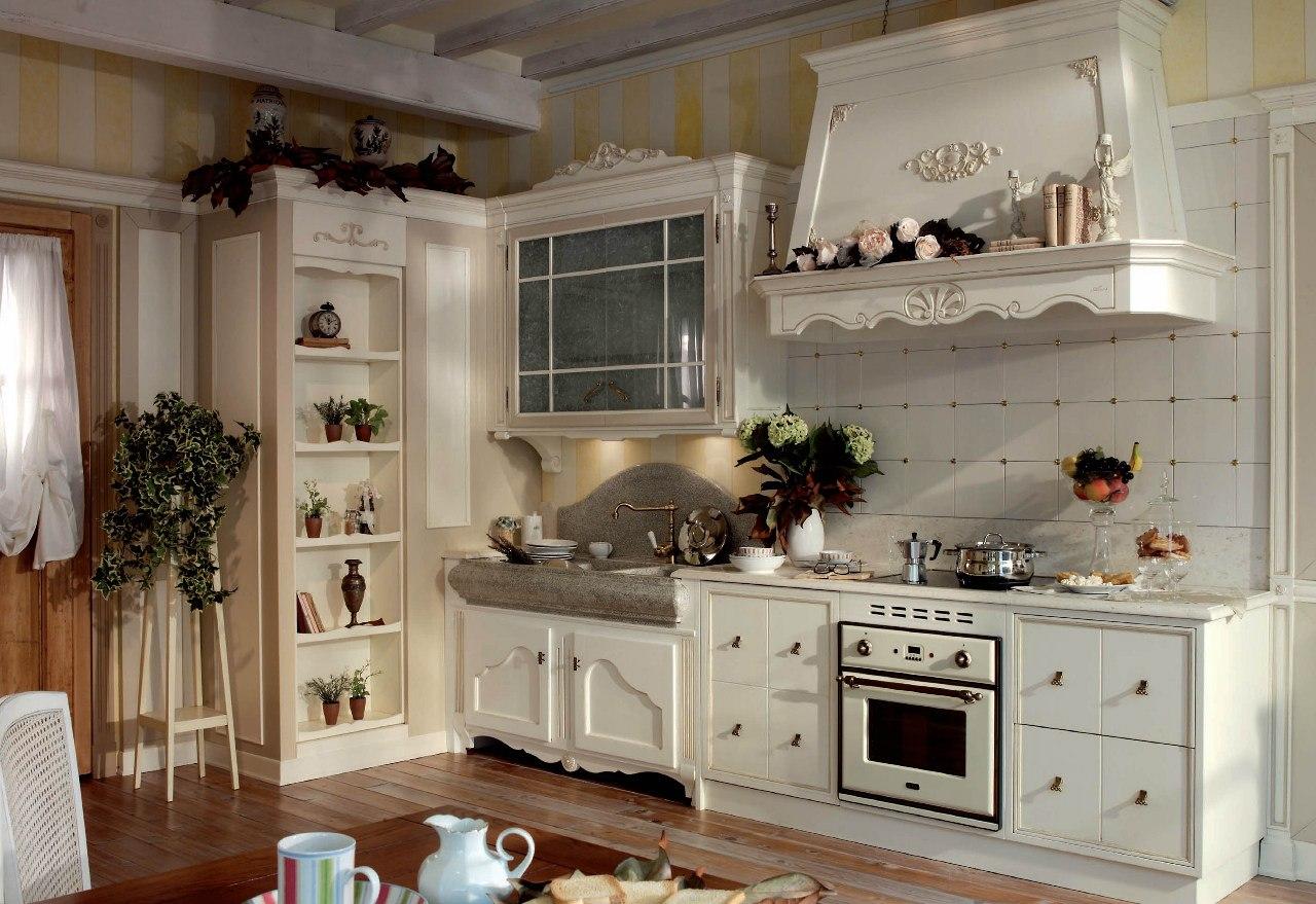 Кухня в стиле кантри: фото