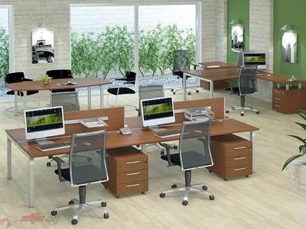 Серия Porte — отличная офисная мебель для помещений open space