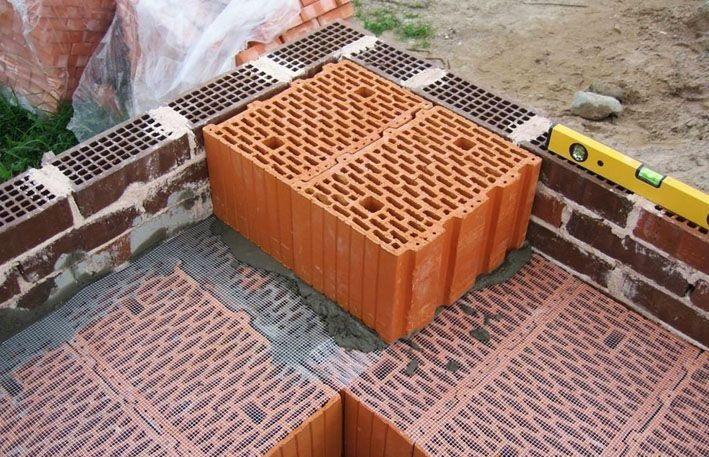 Строительство домов из керамоблока