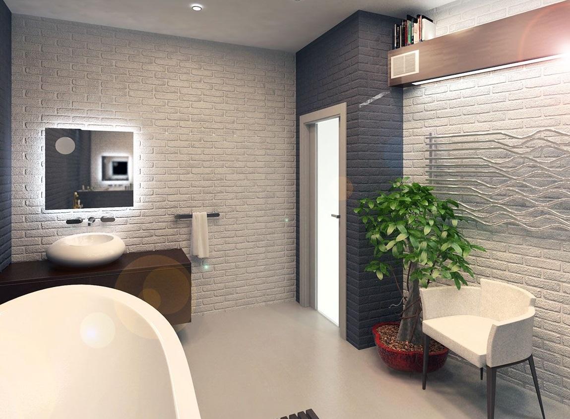 Идеи для использования кирпичной стены в дизайне интерьера