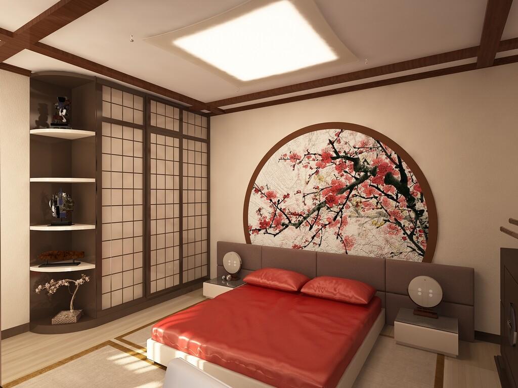 Дизайн спальни с китайскими мотивами. Детали, тонкости, концепция