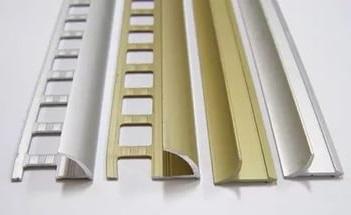 Уголки для плитки, пороги алюминиевые