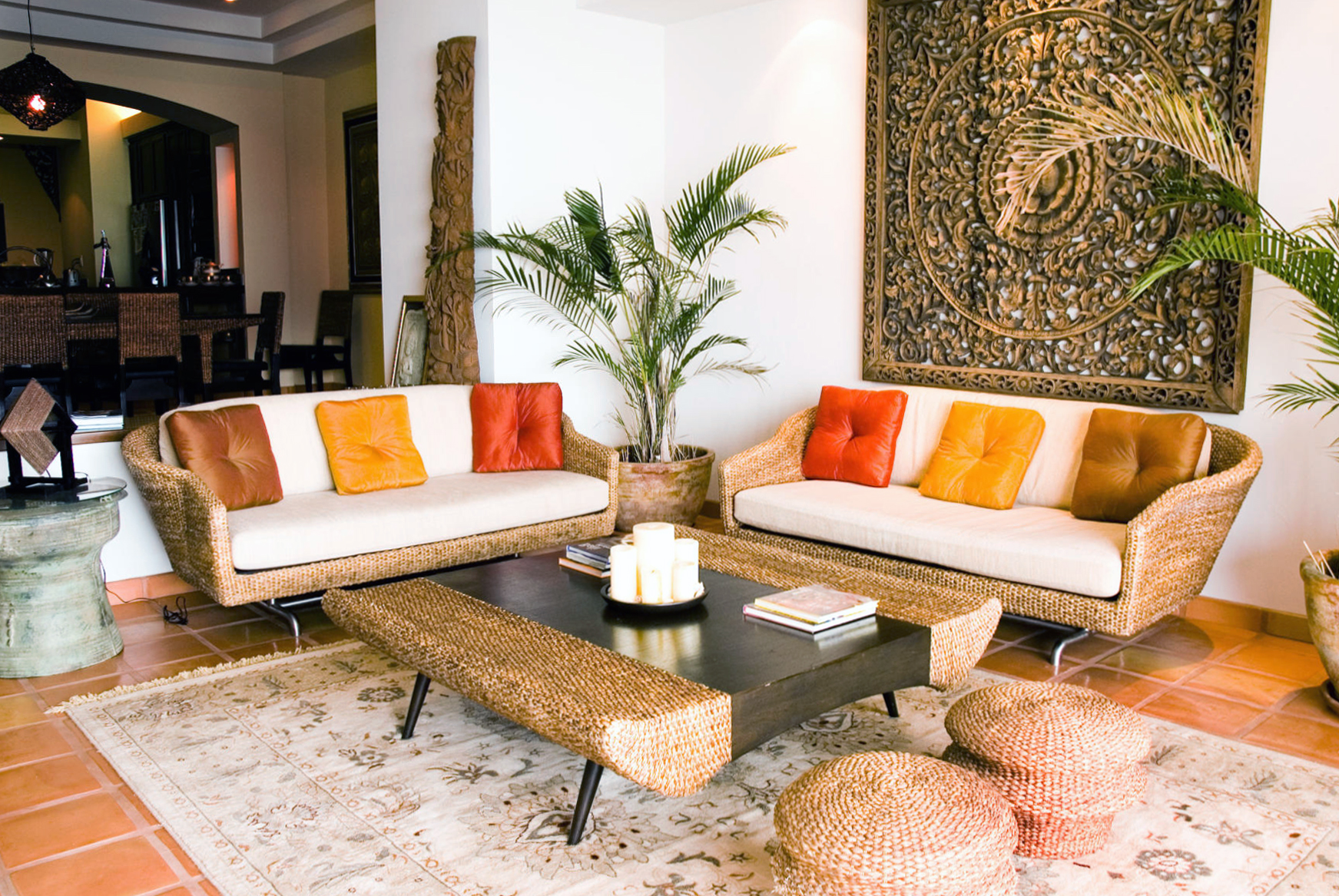 Дизайн квартиры в тропическом стиле