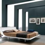 Дизайн итальянской спальни в стиле модерн в частном доме