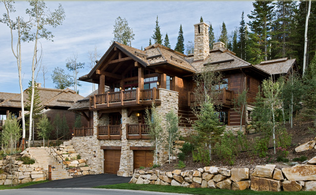 Дизайн домов загородных 4