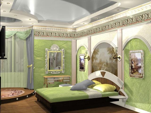 фото спальни в доме