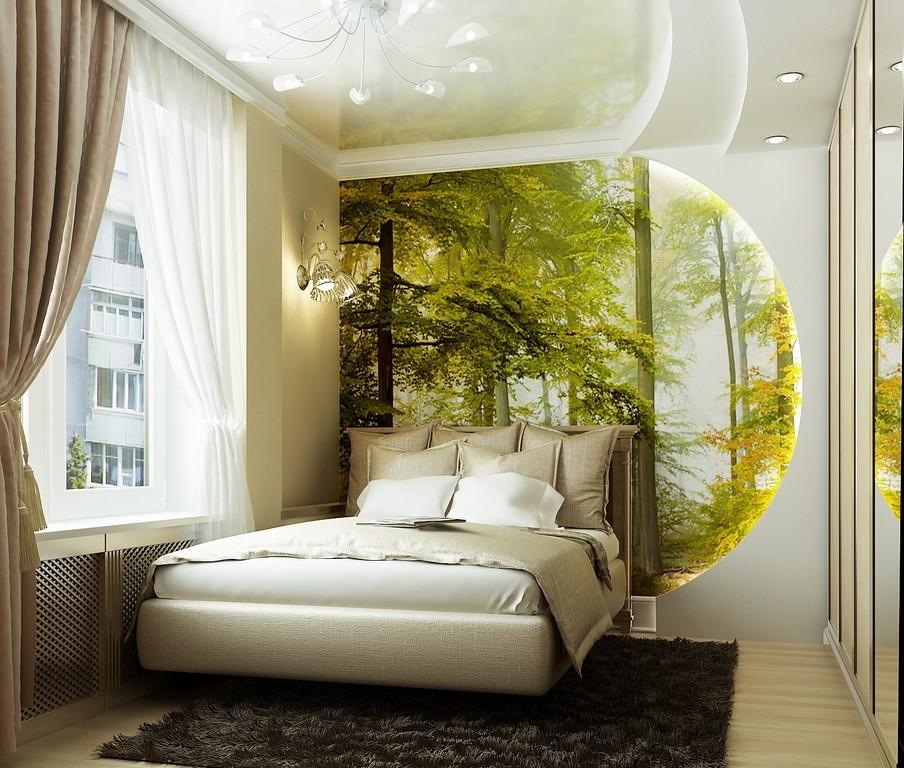 фото спальни в частном доме