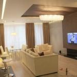 диван - разделитель зон кухни и гостиной