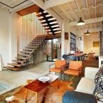 Фото лестницы в гостиной