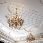 Фото оформления дизайна большой гостиной в загородном доме