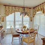 Оформление окон на кухне: фото