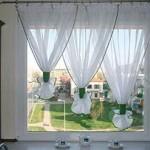 Оформление окна на кухне: фото