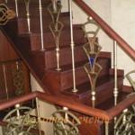 необычные балясины для лестницы: фото