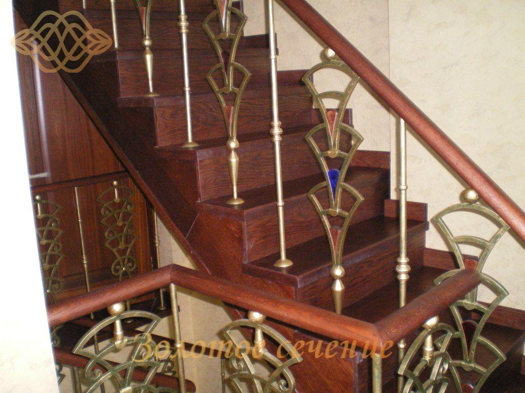 Деревянные лестницы с перилами своими руками