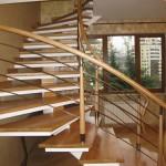 красивая лестница с перилами фото