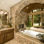 Ванна в оконной нише: крутая идея дизайна