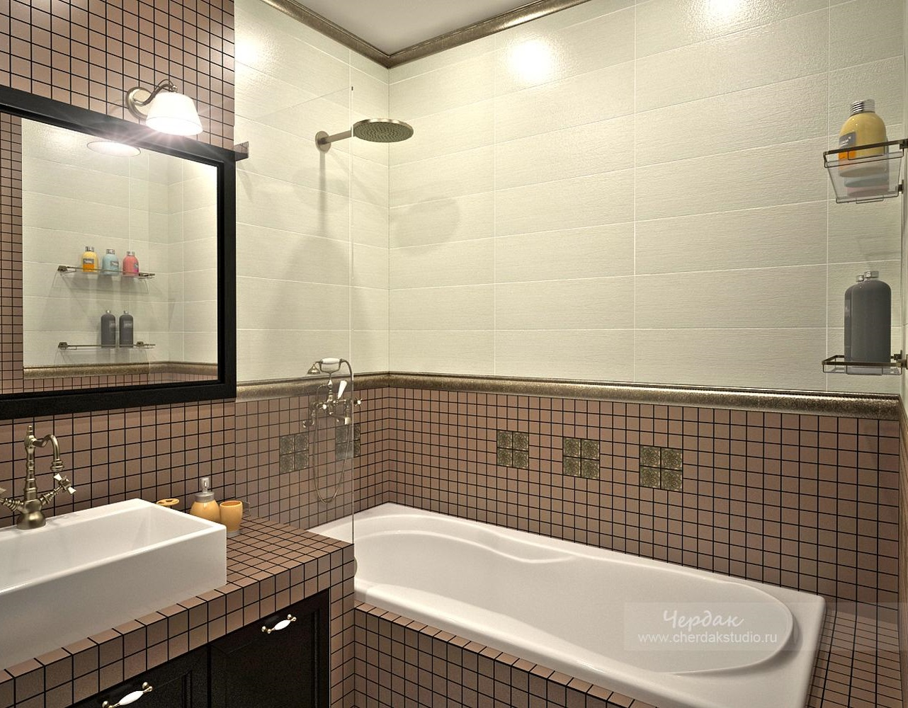 Популярные виды отделки ванной