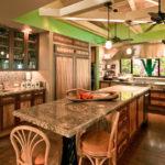 Тропический стиль на кухне