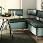 Виды кухонных диванов