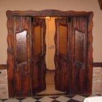 Особенности неокрашенных дверей из массива сосны