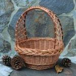 Преимущества плетеных корзин